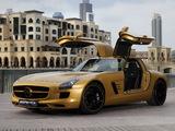 Mercedes-Benz SLS 63 AMG Desert Gold (C197) 2010 photos