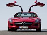 Mercedes-Benz SLS 63 AMG (C197) 2010 pictures