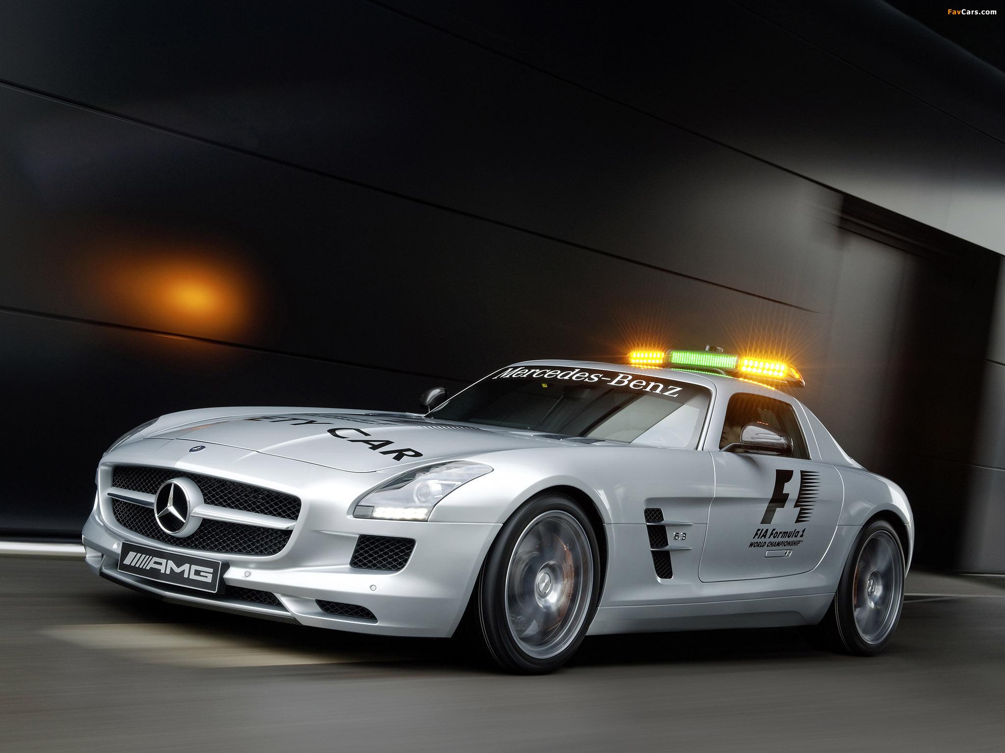 Mercedes-Benz Safety car без смс