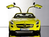 Mercedes-Benz SLS 63 AMG E-Cell Prototype (C197) 2010 pictures