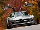 Mercedes-Benz SLS 63 AMG US-spec (C197) 2010 wallpapers