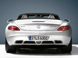 Mercedes-Benz SLS 63 AMG Roadster (R197) 2011 images