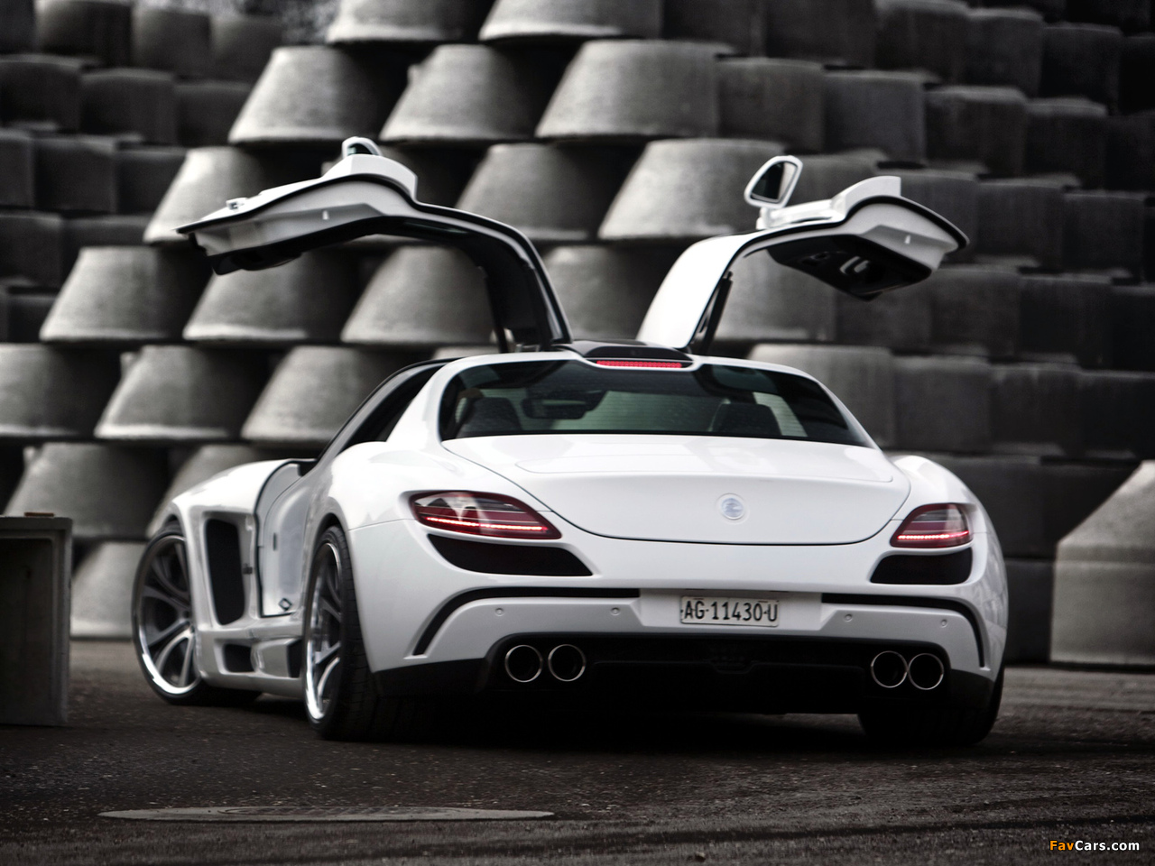 FAB Design Mercedes-Benz SLS 63 AMG (C197) 2011 images (1280 x 960)