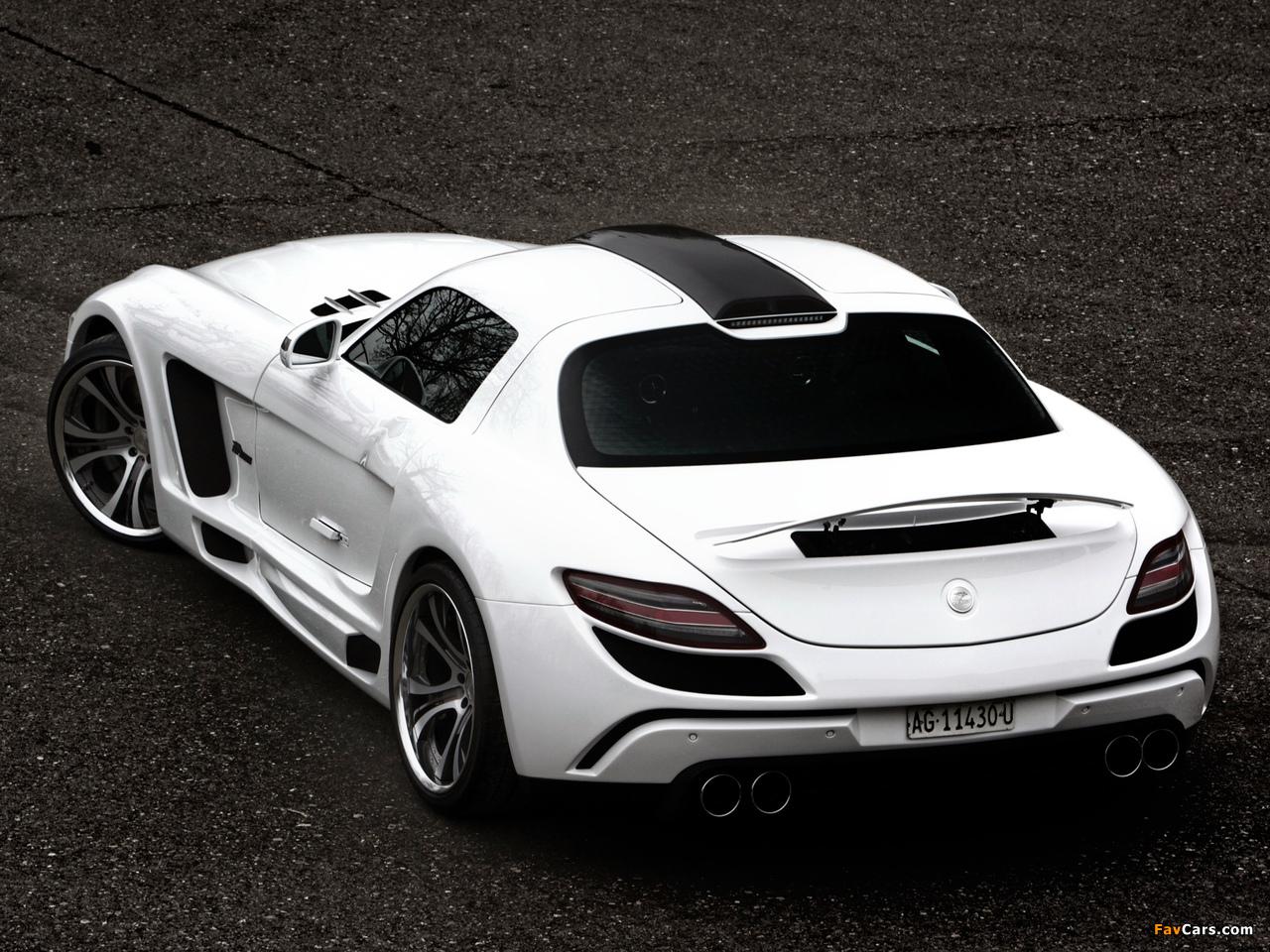 FAB Design Mercedes-Benz SLS 63 AMG (C197) 2011 wallpapers (1280 x 960)
