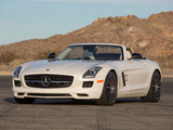 Mercedes-Benz SLS 63 AMG GT Roadster US-spec (R197) 2012 photos