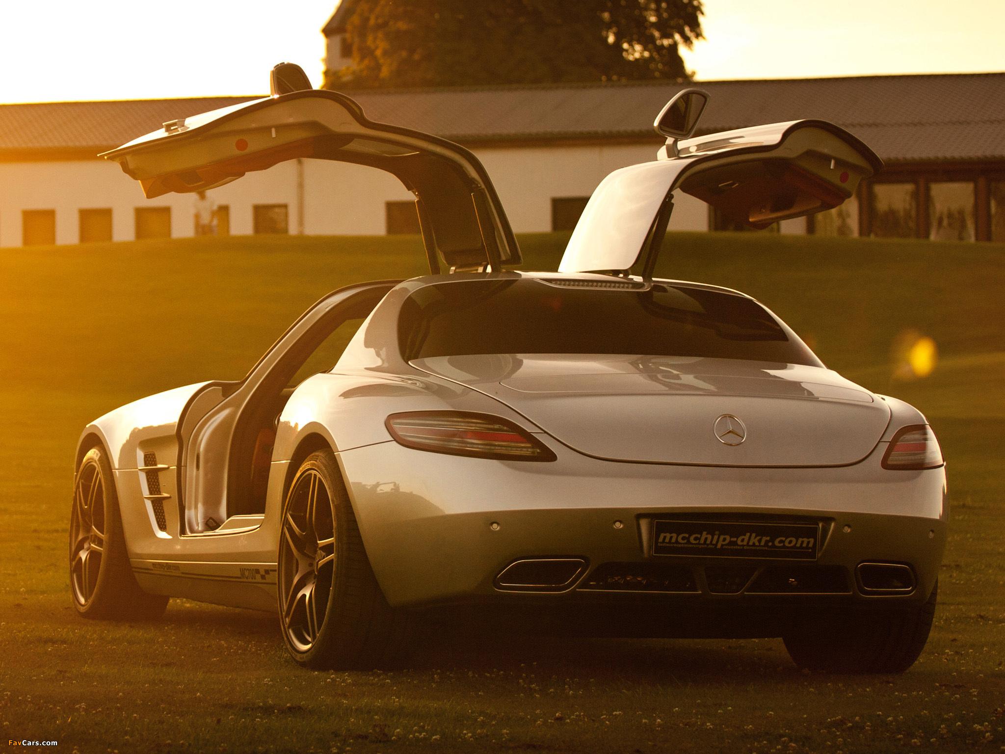 Mcchip-DKR Mercedes-Benz SLS 63 AMG MC 700 (C197) 2012 photos (2048 x 1536)
