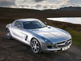 Photos of Mercedes-Benz SLS 63 AMG UK-spec (C197) 2010