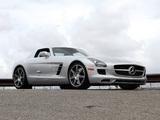 Photos of Mercedes-Benz SLS 63 AMG US-spec (C197) 2010