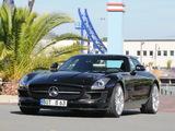 Photos of Brabus Mercedes-Benz SLS 63 AMG (C197) 2010