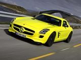 Photos of Mercedes-Benz SLS 63 AMG E-Cell Prototype (C197) 2010