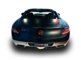 Photos of Mercedes-Benz SLS 63 AMG Night Black Concept (C197) 2010