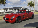 Photos of Mercedes-Benz SLS 63 AMG Roadster AU-spec (R197) 2011