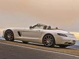 Photos of Mercedes-Benz SLS 63 AMG GT Roadster US-spec (R197) 2012