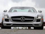 Pictures of Mercedes-Benz SLS 63 AMG US-spec (C197) 2010