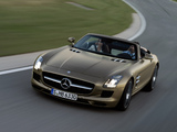 Pictures of Mercedes-Benz SLS 63 AMG Roadster (R197) 2011