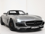 Pictures of Brabus Mercedes-Benz SLS 63 AMG Roadster (R197) 2011