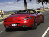 Pictures of Mercedes-Benz SLS 63 AMG Roadster AU-spec (R197) 2011