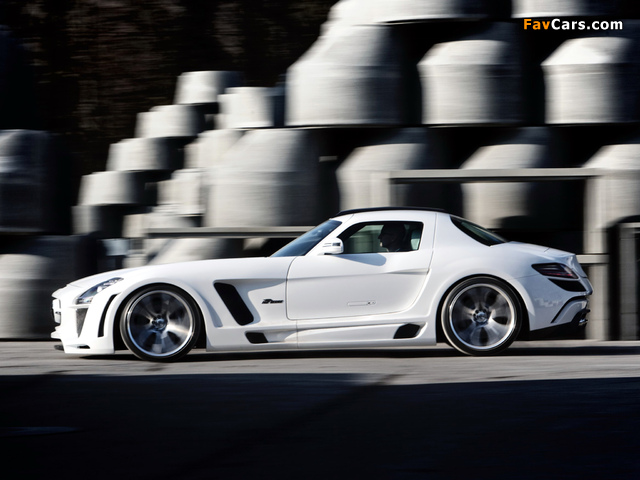 Pictures of FAB Design Mercedes-Benz SLS 63 AMG (C197) 2011 (640 x 480)