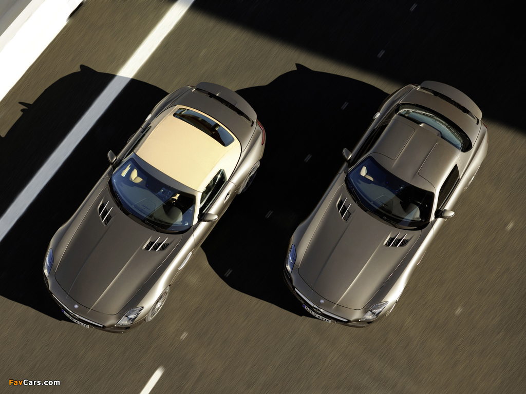 Mercedes-Benz SLS wallpapers (1024 x 768)