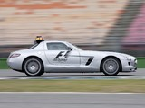 Mercedes-Benz SLS 63 AMG F1 Safety Car (C197) 2010–12 wallpapers