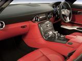 Mercedes-Benz SLS 63 AMG AU-spec (C197) 2010 wallpapers