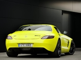 Mercedes-Benz SLS 63 AMG E-Cell Prototype (C197) 2010 wallpapers