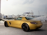 Mercedes-Benz SLS 63 AMG Desert Gold (C197) 2010 wallpapers