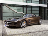 Mercedes-Benz SLS 63 AMG Roadster (R197) 2011 wallpapers