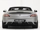 Brabus Mercedes-Benz SLS 63 AMG Roadster (R197) 2011 wallpapers