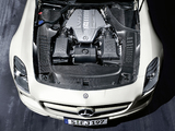 Mercedes-Benz SLS 63 AMG Roadster (R197) 2011–13 wallpapers