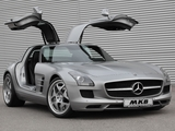 MKB P 640 Mercedes-Benz SLS 63 AMG (C197) 2011 wallpapers