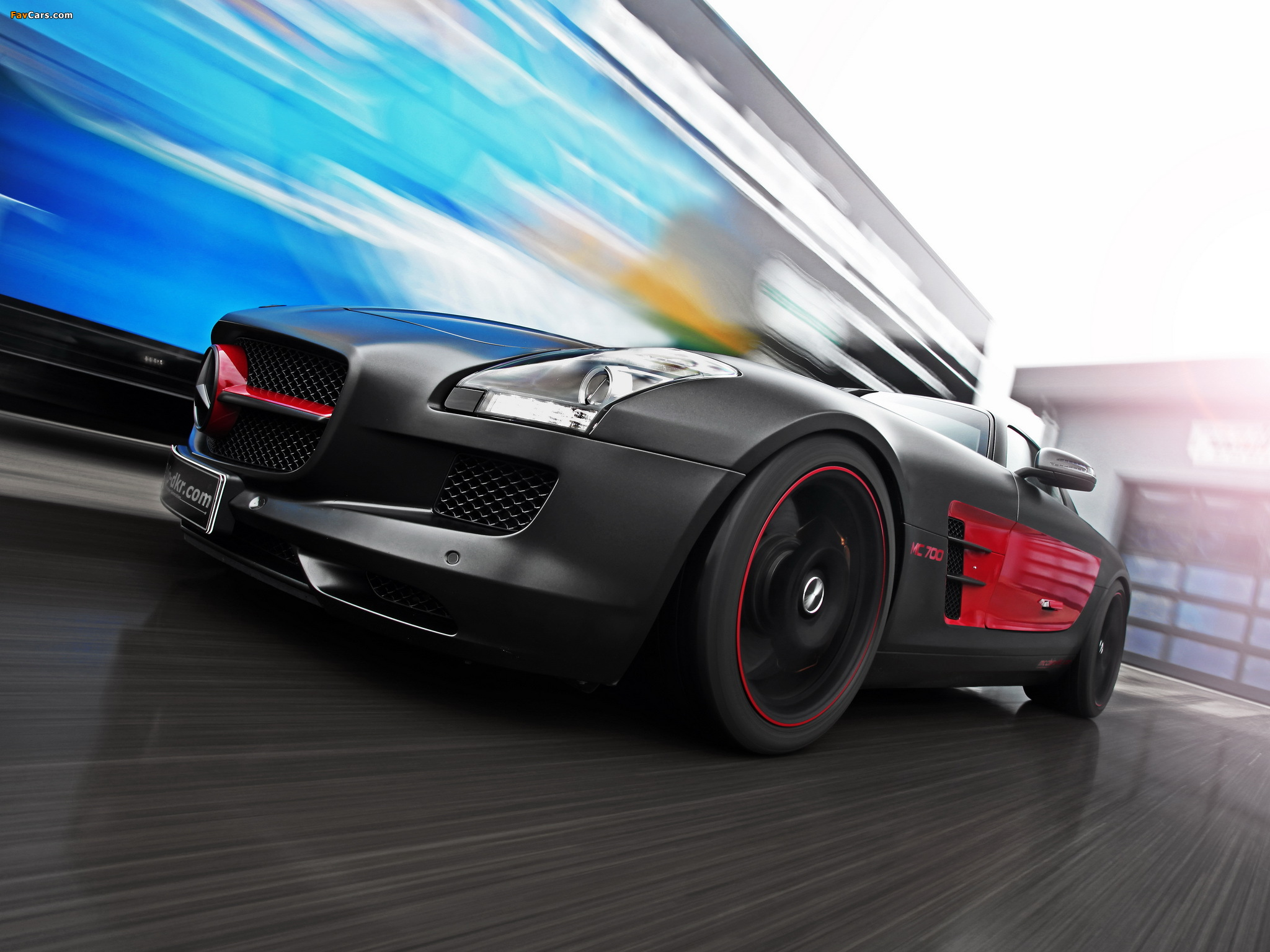 Mcchip-DKR Mercedes-Benz SLS 63 AMG MC 700 (C197) 2012 wallpapers (2048 x 1536)
