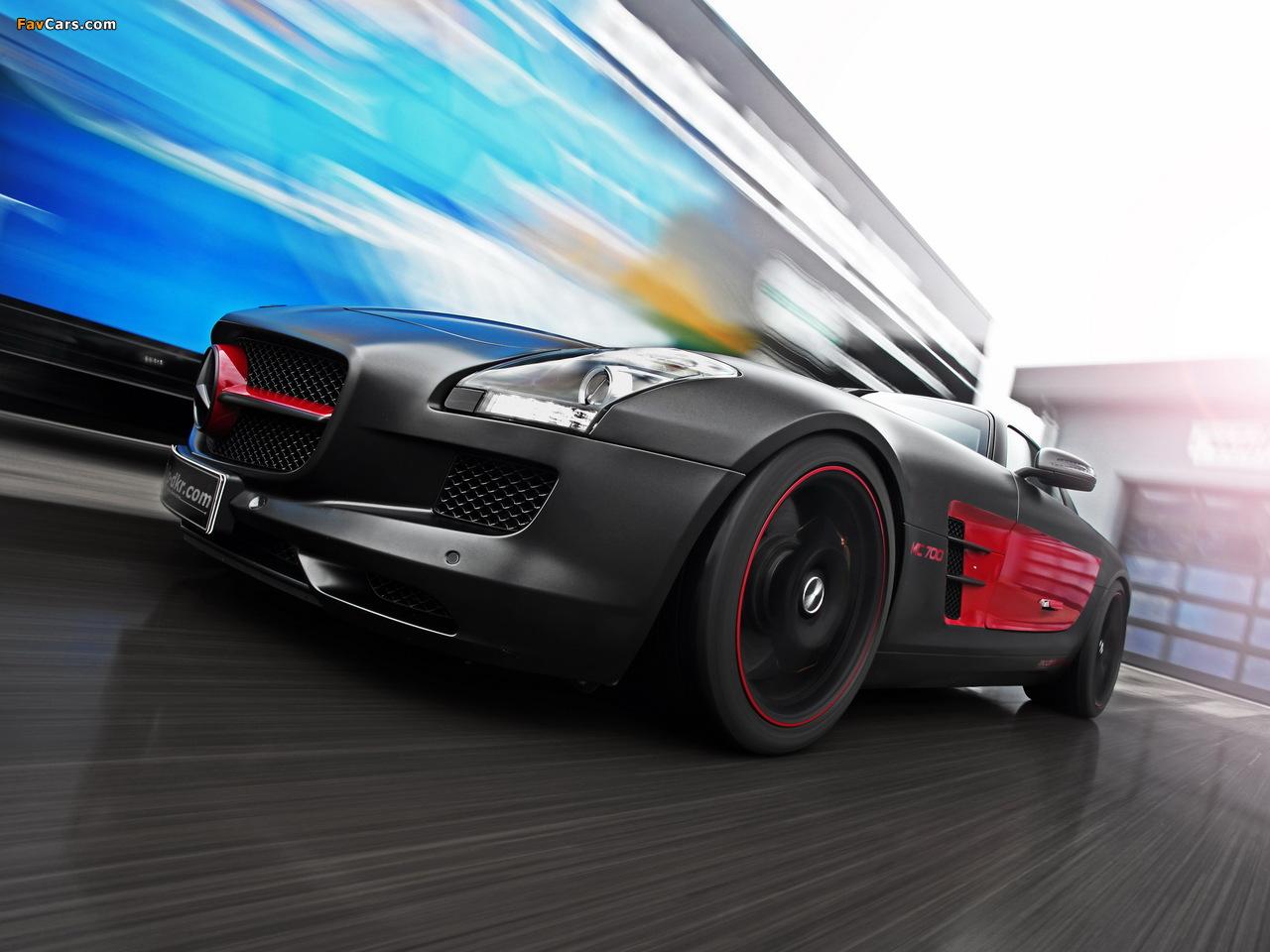 Mcchip-DKR Mercedes-Benz SLS 63 AMG MC 700 (C197) 2012 wallpapers (1280 x 960)