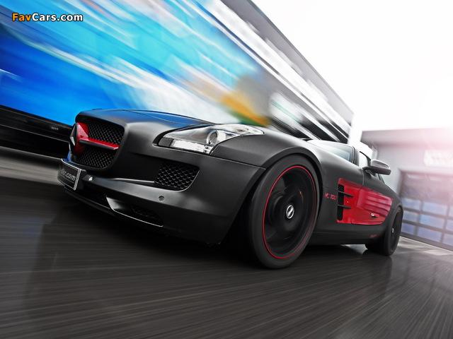 Mcchip-DKR Mercedes-Benz SLS 63 AMG MC 700 (C197) 2012 wallpapers (640 x 480)