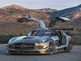 Mercedes-Benz SLS 63 AMG GT3 45th Anniversary (C197) 2012 wallpapers