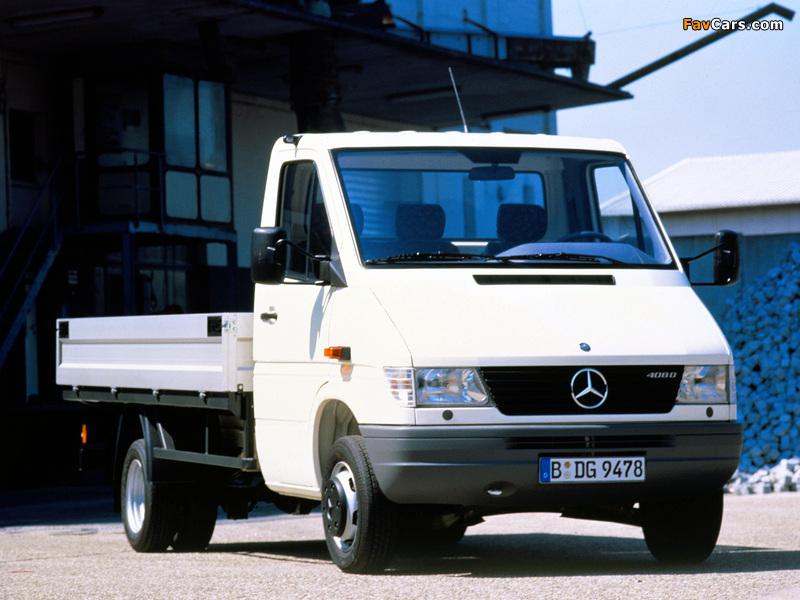 Images of Mercedes-Benz Sprinter Pickup 1995–2000 (800 x 600)
