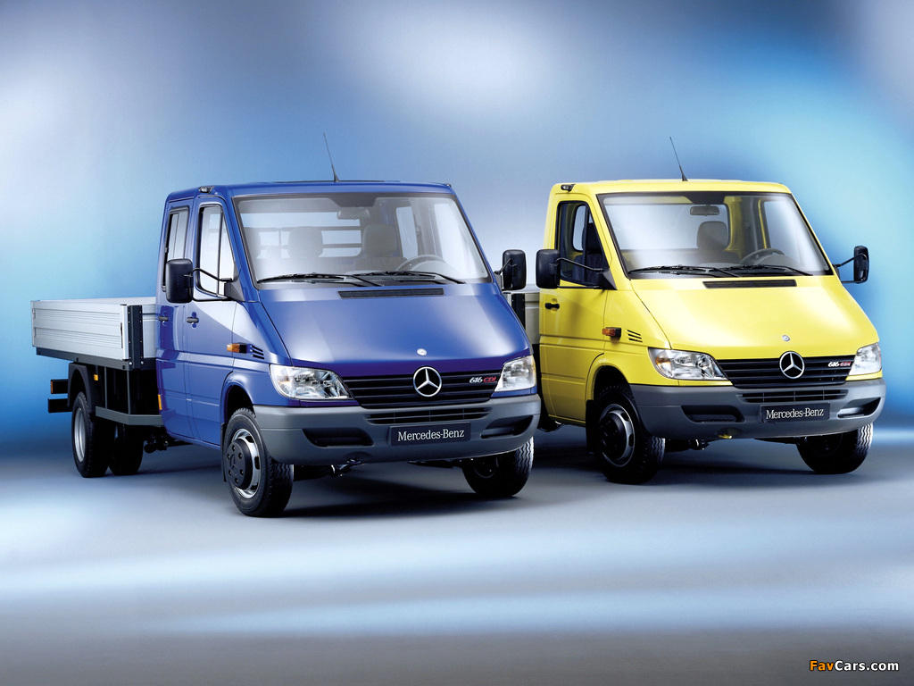 Images of Mercedes-Benz Sprinter 2000 (1024 x 768)