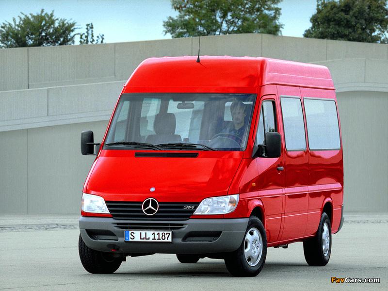 Images of Mercedes-Benz Sprinter 2000–06 (800 x 600)