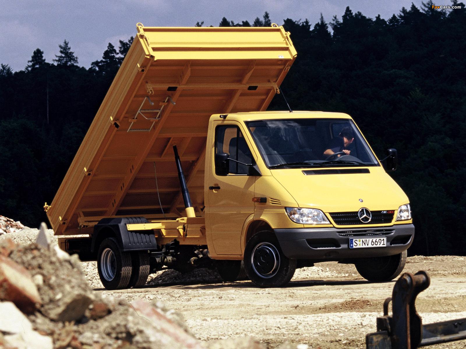 Images of Mercedes-Benz Sprinter Pickup 2002–06 (1600 x 1200)