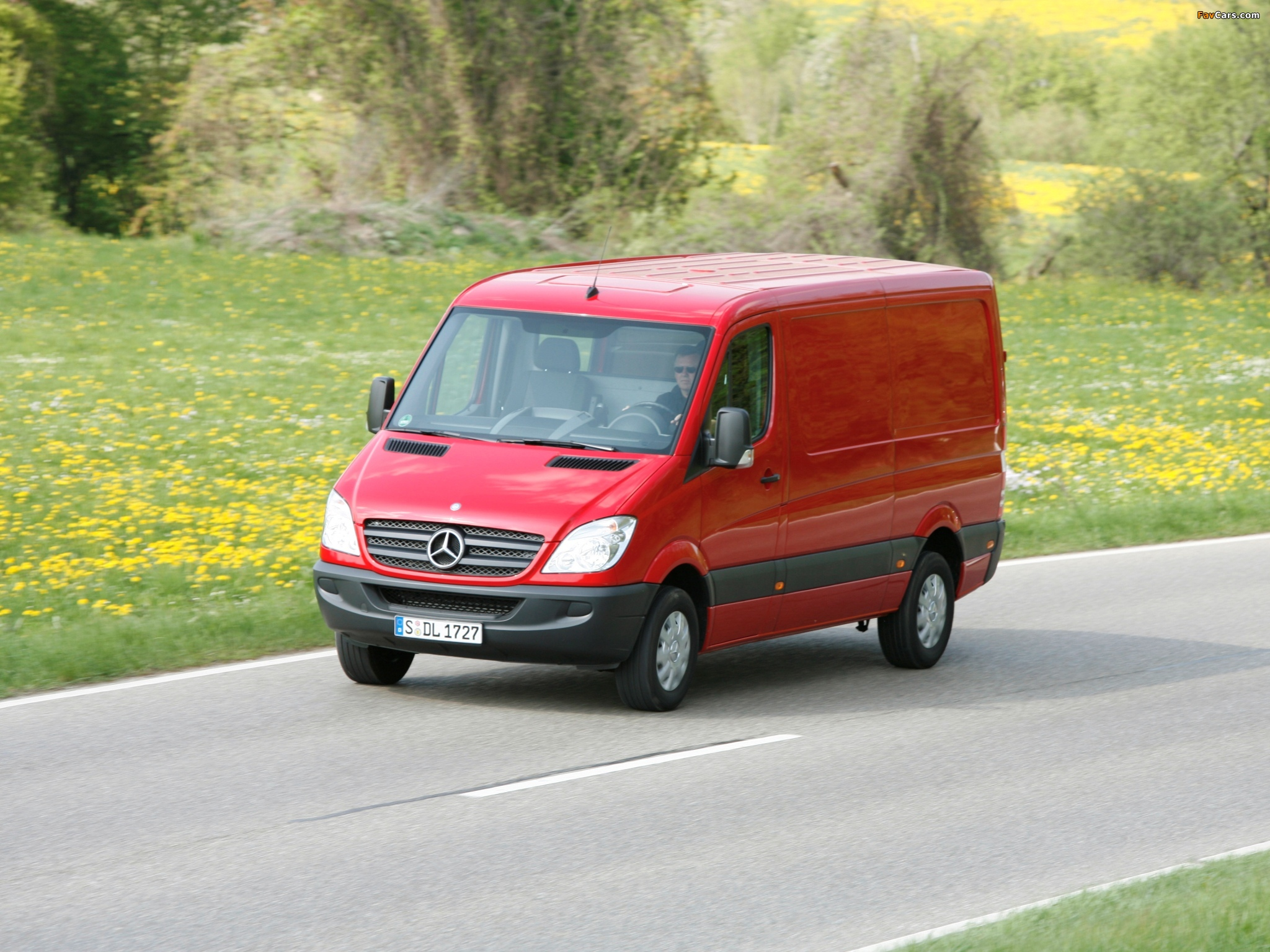 Images of Mercedes-Benz Sprinter Van (W906) 2006–13 (2048 x 1536)