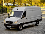 Images of Mercedes-Benz Sprinter 2500 Cargo High Roof (W906) 2006–13
