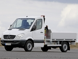 Images of Mercedes-Benz Sprinter Dropside (W906) 2006–13