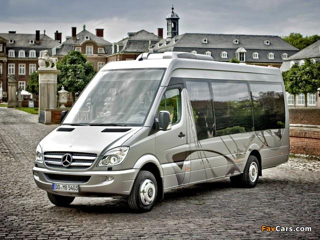 Images of Mercedes-Benz Sprinter Travel 65 (W906) 2006 (640 x 480)