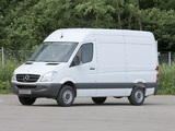 Images of Mercedes-Benz Sprinter High Roof Van (W906) 2006–13