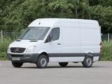 Images of Mercedes-Benz Sprinter High Roof Van (W906) 2006–13