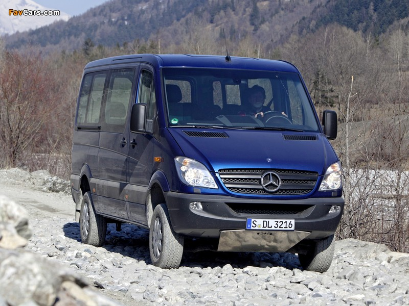 Images of Mercedes-Benz Sprinter 4x4 (W906) 2009–13 (800 x 600)