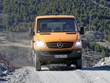 Images of Mercedes-Benz Sprinter Double Cab Dropside 4x4 (W906) 2009–13