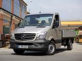 Images of Mercedes-Benz Sprinter Dropside (W906) 2013