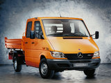 Mercedes-Benz Sprinter Double Cab Pickup 2000–06 images