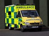 Mercedes-Benz Sprinter Ambulance UK-spec 2002–06 pictures